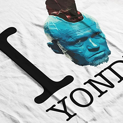 I Love Yondu Guardians of the Galaxy Men's Vest White