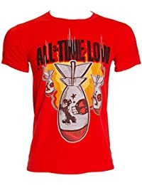 All Time Low Official Da Bomb Red Unisex Tee