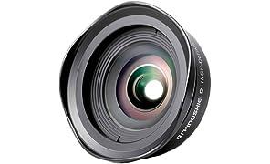RhinoShield iPhone Premium Add-On Camera Lens, Professional 0.6 x 110° HD Wide Angle Screw-On Phone Camera Lens for iPhone 5/5s/SE/7/7 Plus/8/8 Plus and iPhone X
