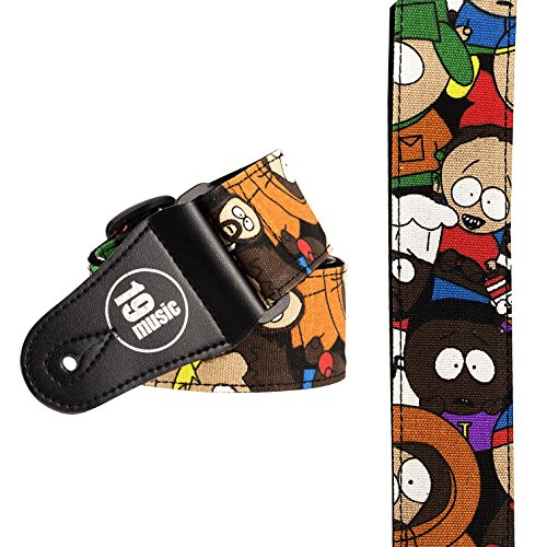 south-park-personnages-cartoon-sangle-pour-guitare