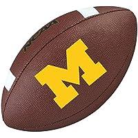 WILSON Michigan Wolverines NCAA official senior composite american football
