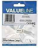 Valueline VLMP39901W Adaptateur Lightning USB Blanc