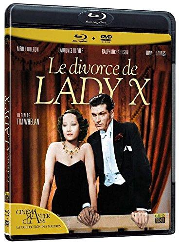 Occasion, Le divorce de lady X [Blu-ray] [Combo Blu-ray + DVD] d'occasion  Livré partout en Belgique