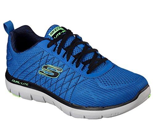 SKECHERS Flex Advantage 2.0-The Happs Herren Sneaker blau Blau