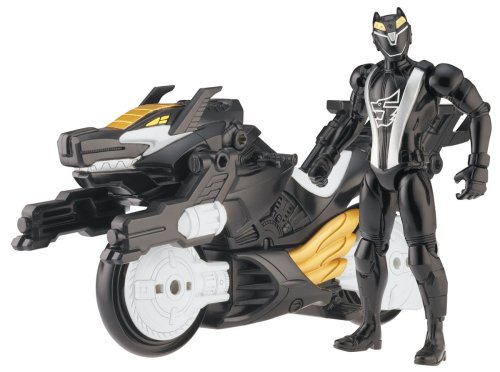 """Power Ranger Rpm Racing Performance Cycle With 5"""" Figure Auxiliary Trax: Racing Performance Wolf Cycle"""