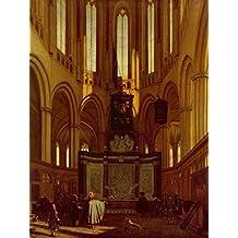 Lais Puzzle Emanuel de Witte - Choeur de la Nouvelle Eglise d'Amsterdam 2000 Pieces
