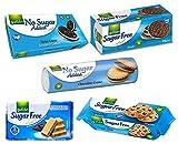Gullon Sugar Free Biscuits - Chocolate Selecion - x 5 packs