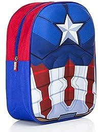 Mochila 32 cm - Marvel Captain America