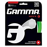 Gamma Tennissaite Moto 12,2 m Set 16 (1,29mm) Lime, GZMO10