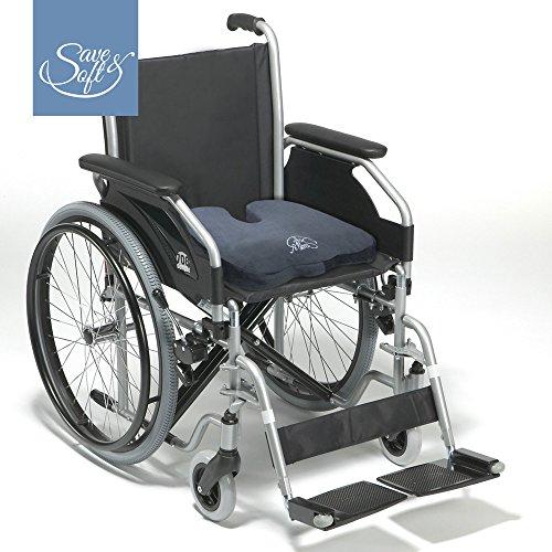 Coj n para asiento de espuma con memoria de save soft - Cojin silla de ruedas ...