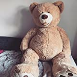 Banabear Nounours Peluche Géants de 130 à 340 cm !! Teddy Bear Ourson Ours Immense (130 cm)