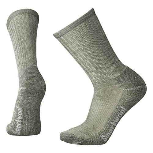 Smartwool Herren Hike Light Crew Socks, Grün (Loden), L (Herren Wool Apparel Socks)