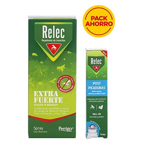 Pack antimosquitos con Relec Extrafuerte + Relec Post Picaduras por 11,99€ ¡¡52% de descuento!!