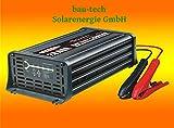 Batterie Caricatore 12V, 20Ampere, 7Livelli di IUoU automatico, piombo Calcio VRLA AGM GEL bagnato di costruzione della Tech energia solare GmbH