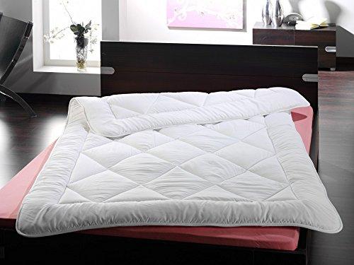 Microfaser Steppdecke Bettdecke Decke Steppbett 3 Größen Soft Touch , Größe:135 x 200 cm