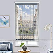 Window Blinds 3D Printing Blackout Roller Shades - Room Darkening Door Curtains Covers Temperature Controlling