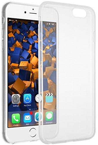 mumbi UltraSlim Hülle für iPhone 6 6s Schutzhülle transparent (Ultra Slim - 0.55 mm)