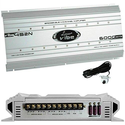 LANZAR VIBE452N VIBE 452N amplificador 4 canales 4