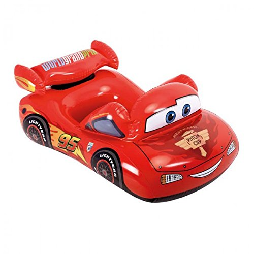 INTEX Kinder Schlauchboot Disney Cars 109x66 cm aufblasbares Boot Kinderboot Badespaß (Kostüm Mcqueen Lightning Disney)