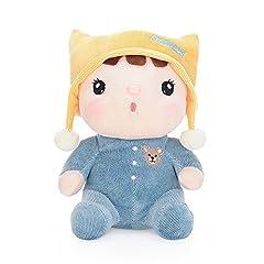 Idea Regalo - Belk Cuddle Giocattolo Bambola di Pezza Bedtime Amico Carino Companion peluche per Bambino Piccolo-Robbie il Cappello Giallo