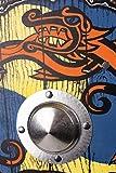 Stabiles Wikinger Schild rund, 41 cm - 3