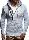 LEIF NELSON Herren Kapuzenpullover Pullover Hoodie Strickpullover Sweatshirt Sweater mit