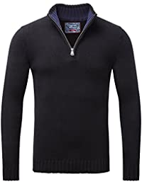 Charles Wilson Zip Neck Cotton Jumper
