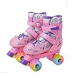 SHANGN Einstellbare Größe Rollschuhe Für Jungen, Mädchen, Erwachsene, Stilvolles Design, Anfänger-Rollschuhe, Freestyle-Speed-Slalom-Inline-Skates