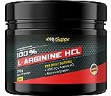 My Supps 100% L-Arginine, 1er Pack (1 x 250 g)