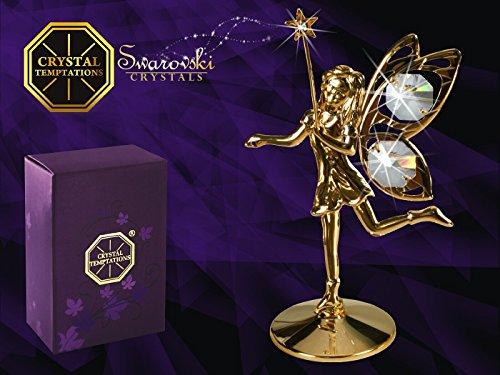 Germany crystal temptations - angelo con stella con cristalli swarovski