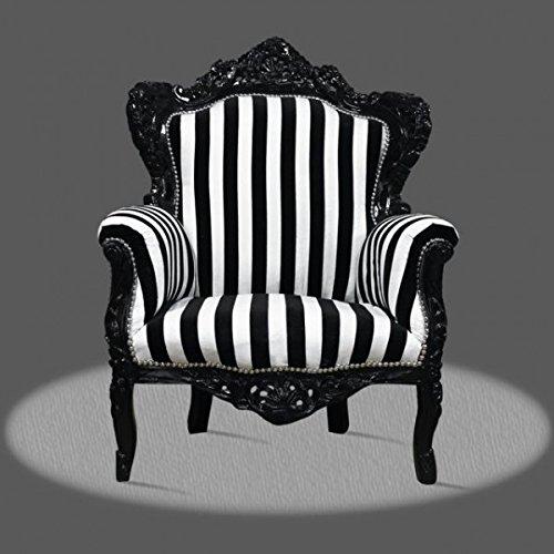 LouisXV Sillón barroco fauteuille estilo antiguo rococó AlCh0500WeSt