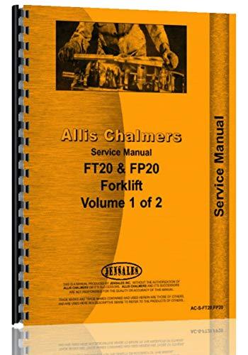 Allis Chalmers F 60Gabelstapler Service manuell