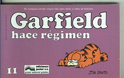 Garfield de Jim Davis numero 11: Hace re...