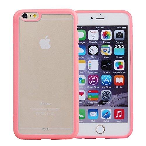 wkae Schutzhülle Case & Cover für iPhone 6Material Acryl Transparent zurück Shell Schutzhülle rot