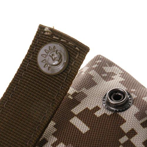 Sharplace Portatile Molle Tattico Sacchetto Militare Marsupio Adatto Per Caccia Viaggio Trekking Accesorio Sportivo - Nero camo digitale Deserto