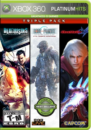 Capcom Platinum Hits 3er-Pack (Dead Rising / Lost Planet: Extreme Condition / Devil May Cry 4) (3 360 Xbox Rising Dead)