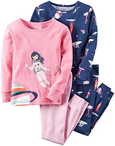 carters-4-piece-mix-n-match-baby-toddler-girls-cotton-pyjama-set-18-months