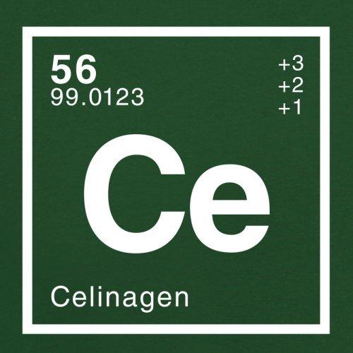 Celina Periodensystem - Herren T-Shirt - 13 Farben Flaschengrün