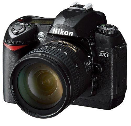 Nikon D70s SLR-Digitalkamera (6 Megapixel) Gehäuse in schwarz inkl. 1GB CF Ultra II Karte - 2