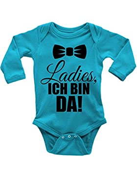 Mikalino Babybody Ladies, Ich Bin da! Langarm