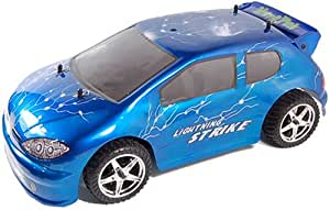 Nitrotek Lightning Strike - 1/10th Scale Electric RC Rally Car - Blue