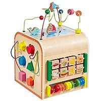 "howa Wooden Activity Cube ""Little World"" 6001"
