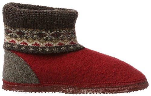 Versare Vino Unisex Adulti Kristiansand Adulti Pantofole Alta Rosso (ciliegia 362)
