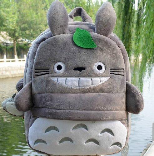 MeMoreCool My Neighbor Totoro Manga Backpack Japanese Anime Large School Student Bag Satchel Bookbag Kids backpack 43*35cm by MeMoreCool