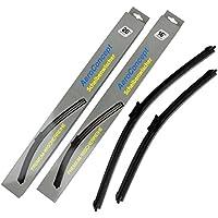 Jurmann Trade GmbH/® 2 x Aero Scheibenwischer Jurmann Wischerbl/ätter Adapter 700//550mm Premium Qualit/ät