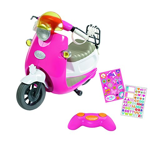 """Zapf Creation 824771"""" Baby Born City RC Scooter Puppe, bunt"""