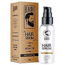 Beardo Hair Serum With Argan Oil For Men, 50ml
