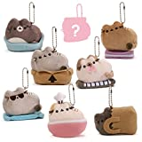 GUND 4059266 Pusheen Surprise Series 3 Places Cats Sit Plush, Multi-Colored