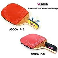 Nouveau Papillon Addoy P20+ P40Raquette de tennis de table support à stylos Paddle Ping Pong 2raquettes et boule
