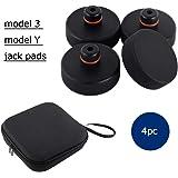 Model 3 Wagenheber Gummiauflage Jack Point Pad Adapter für zum Schutz Batterie Chassis Farbe für Model 3 Model S Model X, 4 S